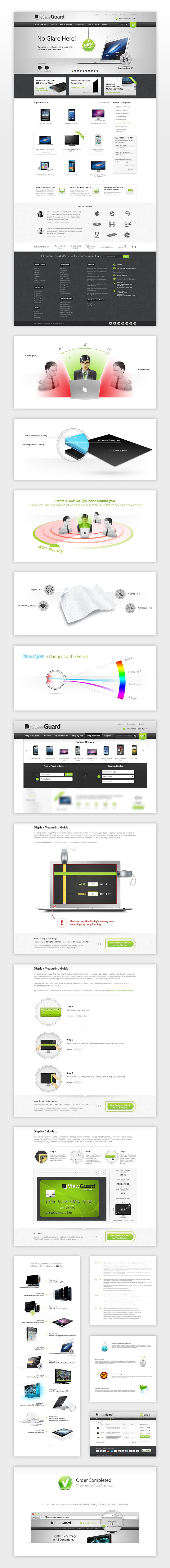 ViewGuard Web Pages